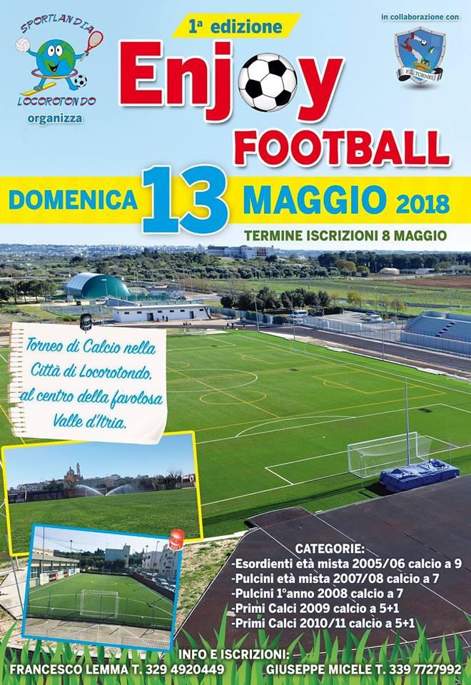 Calendario Pulcini 2006.1 Torneo Nazionale Enjoy Football 2018 F L Tornei